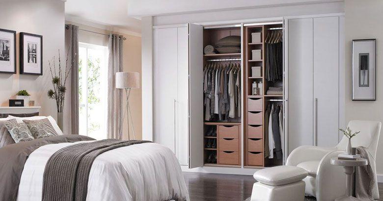 vestavěné skříně do ložnice