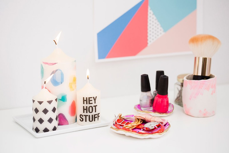 diy-patterned-candles-