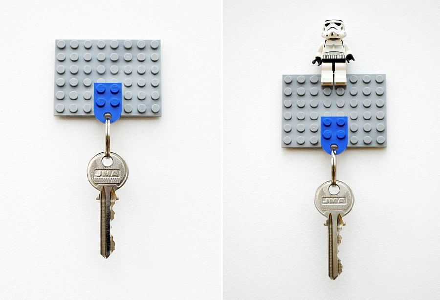 DIY-Lego-key-holder