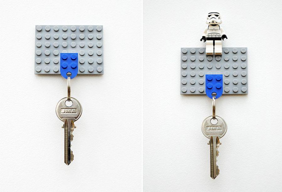 DIY-Lego-key-holder