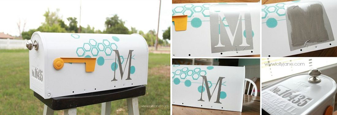 Chic-and-modern-mailbox-DIY-project